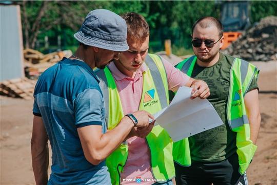 Алексей Ладыков проверил темпы реконструкции и ремонта дорог в Чебоксарах