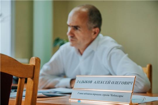 Прямой эфир с главой администрации Чебоксар Алексеем Ладыковым пройдет 22 июля