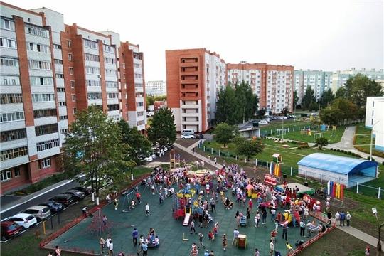 Во дворе домов по проспекту Мира 92,94,96,98 новая детская площадка!