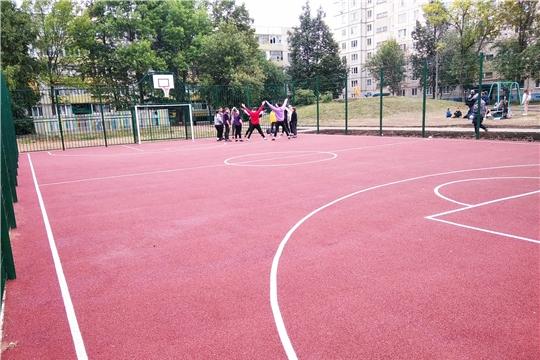 В Московском районе состоялось открытие дворовой территории -  двор ул. Эльгера 2, 4 и ул. М. Павлова 28, 30.