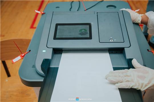 В Чебоксарах открылись избирательные участки для голосования