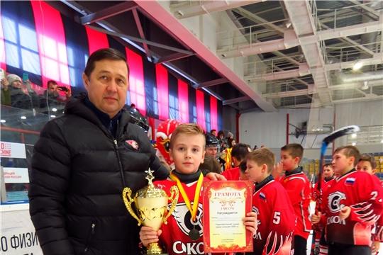 """Безоговорочная победа """"Сокола-2009"""" на домашнем Рождественском турнире"""