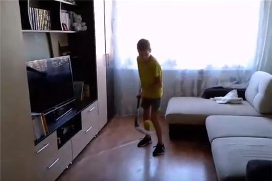 """Роман Воробьев из """"Сокола-2008"""": домашняя тренировка"""