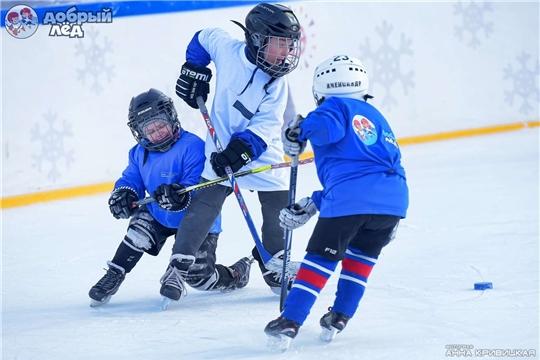 Объявлены победители восьмого конкурса проектов развития детского хоккея «Добрый лёд»
