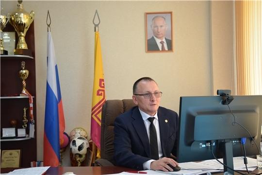 Министр спорта Василий Петров выступил на сессии Госсовета Чувашии в рамках «правительственного часа»