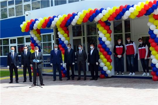 Открытие регионального центра хоккея 23.06.2020