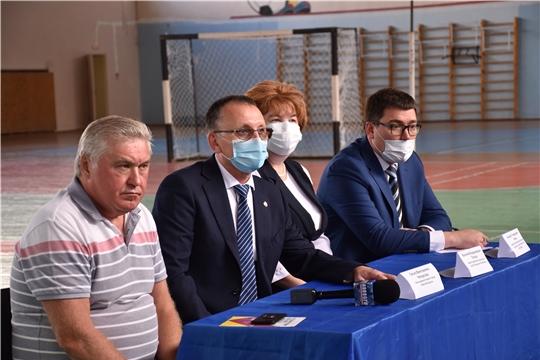 Министр спорта Василий Петров предложил Новочебоксарску стать пилотным муниципалитетом по внедрению региональных проектов в области спорта