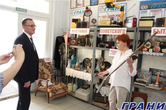 """Министр спорта Чувашии посетил Новочебоксарск и ответил на вопросы газеты """"Грани"""""""