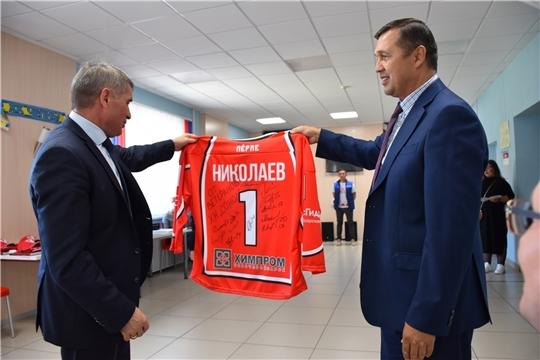 Славься чувашский хоккей