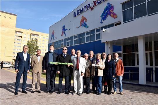 В Международный день пожилых министр Василий Петров встретился с ветеранами спортивной отрасли