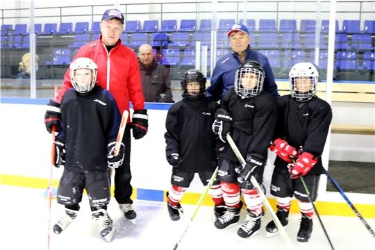 В Чувашии началась реализация грантового проекта «Хоккей без границ»