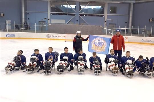 Детская следж-хоккейная команда «Атал» - серебряный призер турнира Ленинградской области