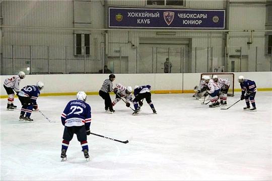 Юниорские команды Чебоксар и Новочебоксарска обменялись победами в матчах Первенства ПФО