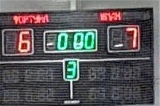 Так завершился первый в России матч по хоккею для незрячих с участием чебоксарской команды «Юман».
