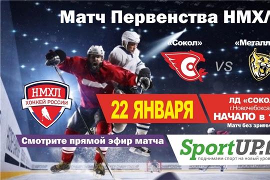 Приглашаем на матчи Первенства НМХЛ