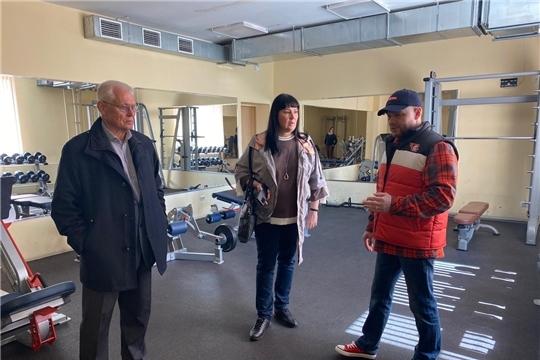 Члены Общественного совета при Минспорте Чувашии инспектируют работу республиканских спортивных школ