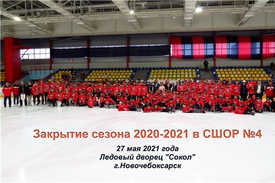 Закрытие сезона 2020-2021 в СШОР №4