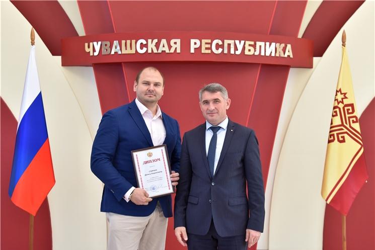 Денис Спирин, полуфиналист республиканского конкурса «Управленческая команда»
