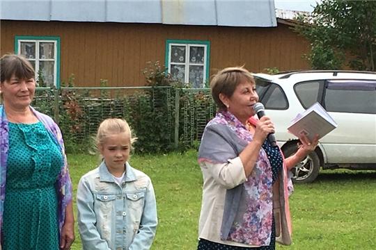 Работники культуры Приволжского сельского поселения организовали выездной концерт