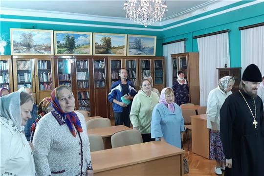 На базе центральной районной библиотеки состоялось занятие воскресной школы для взрослых