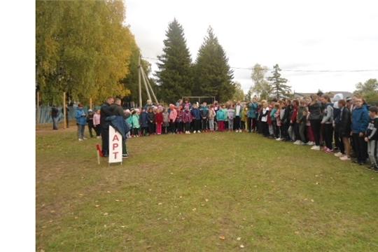 Легкоатлетический забег «Кросс нации» прошел в Эльбарусовском сельском поселении