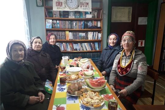 День пожилых людей прошел в Покровской сельской библиотеке