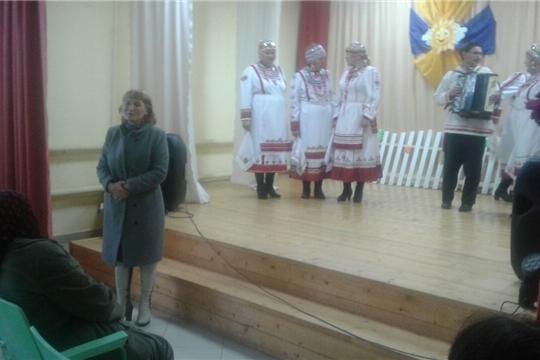 День пожилого человека в селе Сотниково