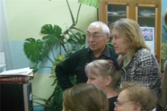 В Бичуринской сельской библиотеке прошел урок компьютерной грамотности