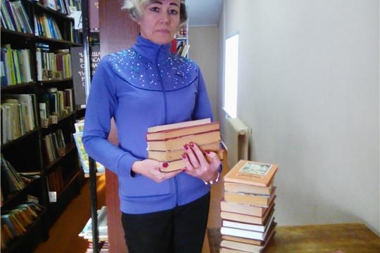 Большешигаевская сельская библиотека присоединилась к районной библиотечной акции «Подари книги библиотеки»