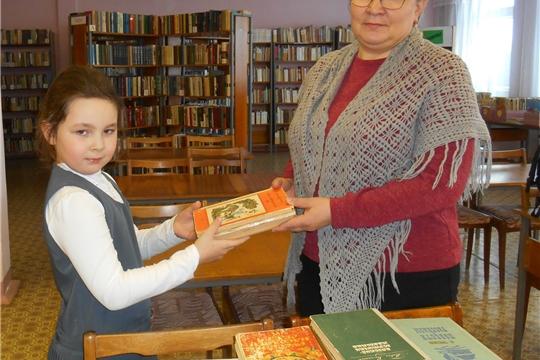 Приволжская городская библиотека присоединилась к акции «Подари книгу библиотеке»