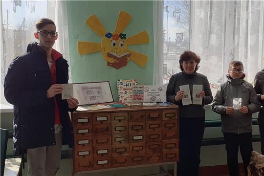 В Октябрьской сельской библиотеке функционирует книжная выставка-размышление «Скажи наркотикам нет»