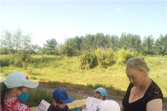 Кугеевская сельская библиотека присоединилась к акции «Безопасность детства»