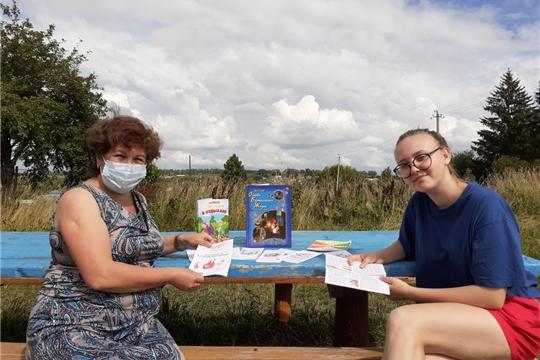 Октябрьская сельская библиотека присоединилась к акции «Безопасность детства»