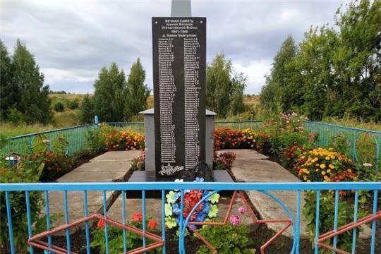 Благоустройство обелисков воинам Великой Отечественной войны в Кугеевском сельском поселении