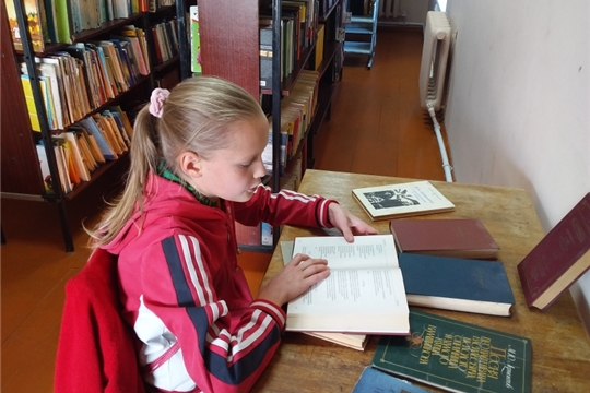 Большешигаевская сельская библиотека присоединилась к Международной акции «День лермонтовской поэзии в библиотеке»