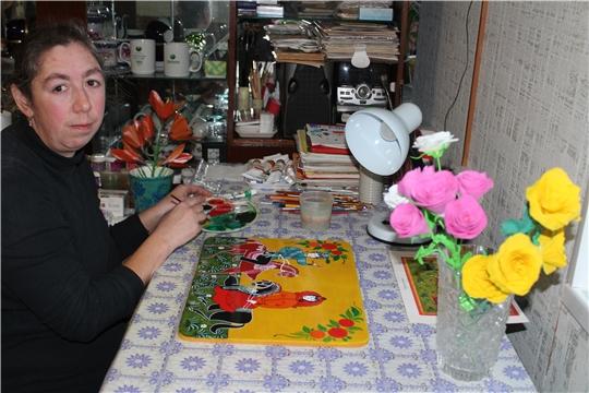 В рамках Дня инвалида Сюндюковская сельская библиотека посетила своего постоянного читателя – инвалида с детства