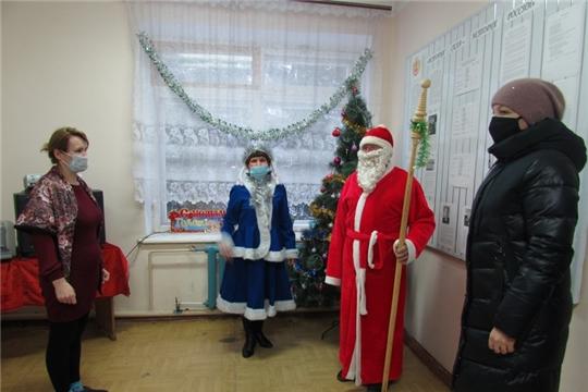 Литературная елка «В гостях у зимушки-зимы» прошла в Первочурашевской сельской библиотеке