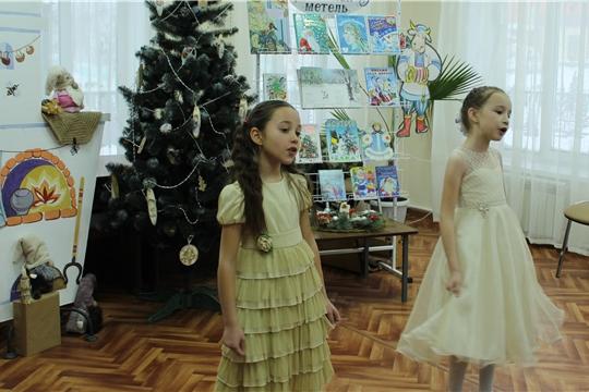 В Детской библиотеке продолжаются новогодние поздравления