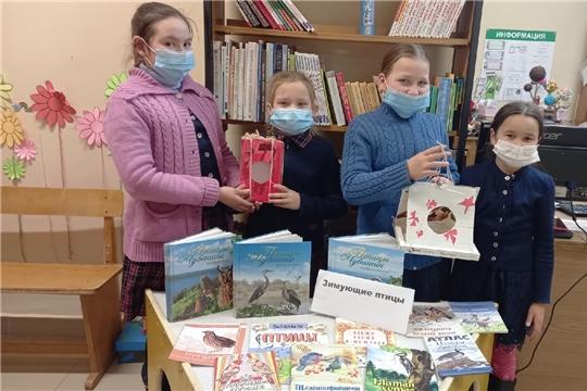 Игра-викторина «Зимующие птицы» прошла в Сотниковской сельской библиотеке