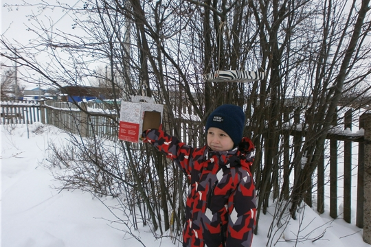 День зимующих птиц «Пернатые соседи» прошел в Карабашской сельской библиотеке
