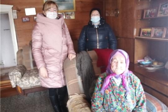 Работники культуры Кугеевского сельского поселения организовали сбор информации строителей Сурского рубежа