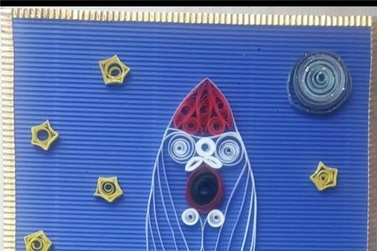 Сятракасинская сельская библиотека присоединилась к Всероссийской акции «Мечты о космосе»