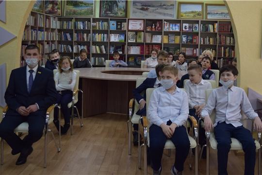В центральной районной библиотеке прошел день открытых дверей «Книга – путь к звездам»
