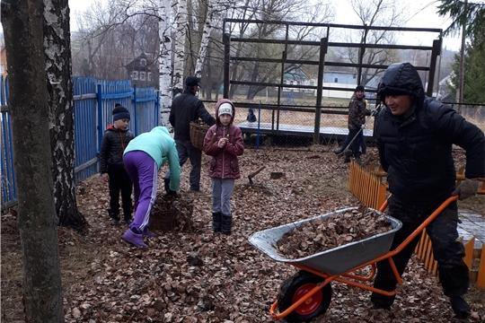Всероссийский день заботы о памятниках в д. Акшики