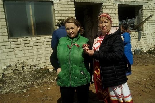 В Кугеевском сельском поселении продолжается акция «Георгиевская лента»