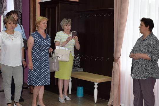 Мариинско-Посадскую центральную районную библиотеку посетили гости из г.Канаш