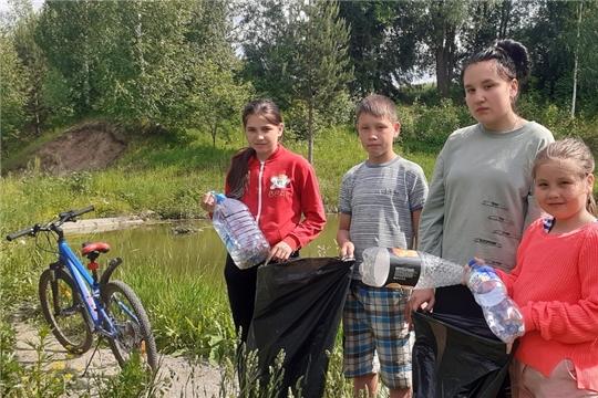 Астакасинская сельская библиотека присоединилась к Всероссийской акции «Вода России»
