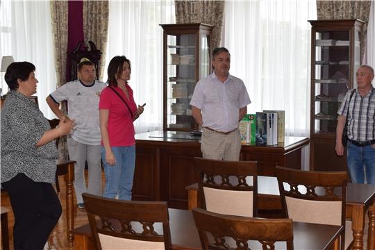 Алексей Соловьев обладатель множества спортивных титулов посетил Центральную районную библиотеку
