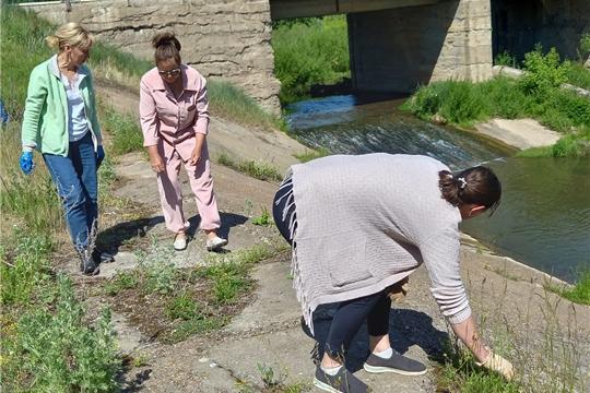 Всероссийская акция «Вода России» прошла в Октябрьском сельском поселении