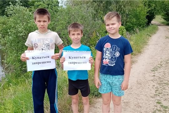 Работники культуры Бичуринского сельского поселения провели беседу «Правила поведение на воде»